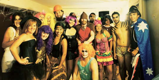 purim at overstay tel aviv hostel