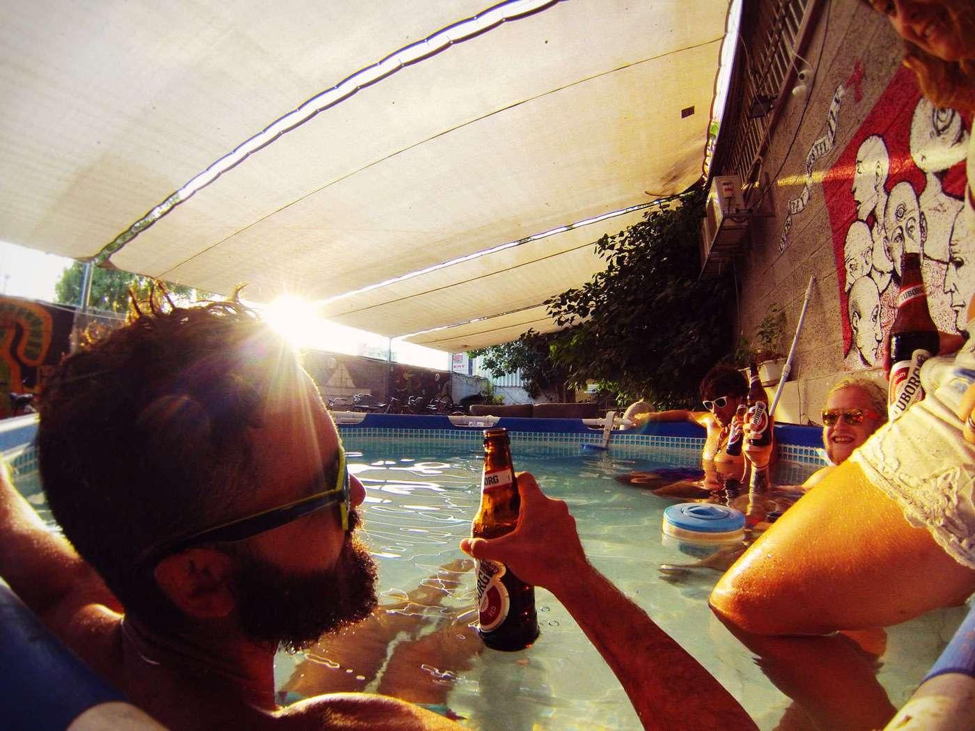 pool-sun